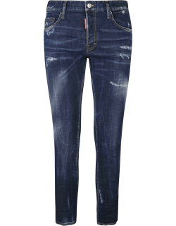 Dsquared2 Rear Patched Distressed Jeans