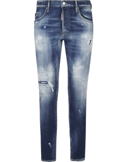 Dsquared2 Classic Distressed Effect Jeans