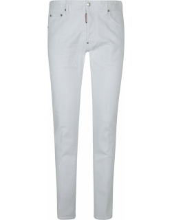 Dsquared2 Rear Logo Patched Slim Jeans