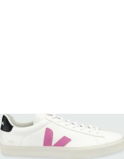 Campo Tricolor Leather Low-Top Sneakers