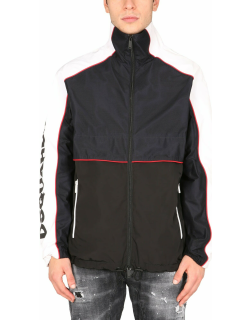 Dsquared2 Combo Motorcycle Jacket With Logo