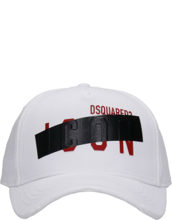 Dsquared2 Hats In White Cotton