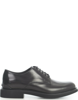 Tods Polished Derby Shoe