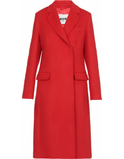 MSGM Wool Double Breasted Coat