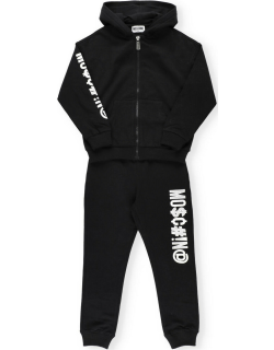 Moschino Two-piece Tracksuit With Embroidered Logo