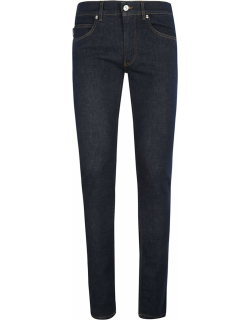 Versace Logo Patched Slim Jeans