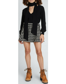 Tink Cropped Cashmere Sweater