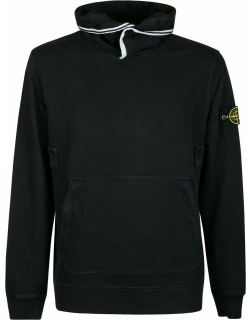 Stone Island Logo Patched Hoodie
