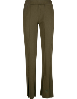 Federica Tosi Logo Embroidered Flared Trousers