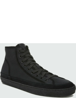 Men's Rodgers Canvas & Suede High-Top Sneakers