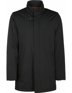 Fay Chest Lock Detail Stand-up Collar Parka