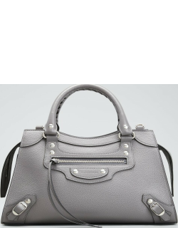 Neo Classic City Small Grained Leather Satchel Bag