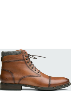 Men's David Field Leather Military Boots