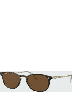 Men's Finley Vintage Rounded Square Sunglasses