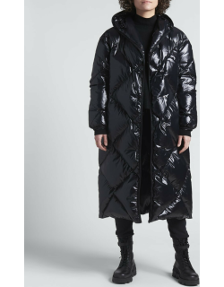 Cotonniere Long Quilted Coat