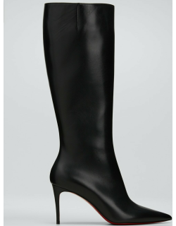 Kate Calfskin Red Sole Stiletto Knee Boots