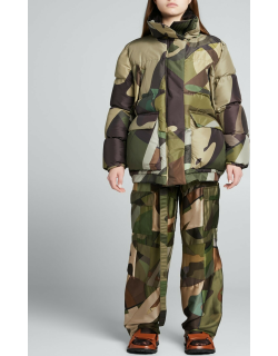 KAWS Print Belted Cargo Pants