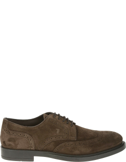 Tods Bucature Perforated Derby Shoes
