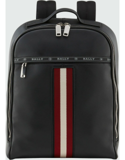 Men's Hassel Leather Trainspotting Backpack