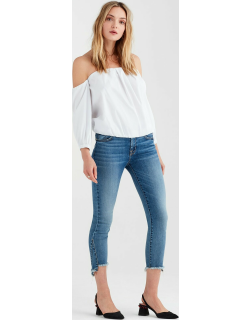 Puff Sleeve Off The Shoulder Top in White
