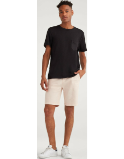 """9"""" Inseam Chino Short in Faded Pink"""
