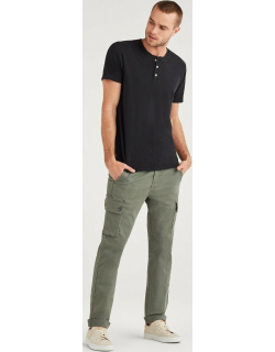 Total Twill Slim Taper Adrien Cargo Pant in Faded Spruce Clean
