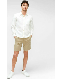 7 For All Mankind Mens Chino Short in Khaki