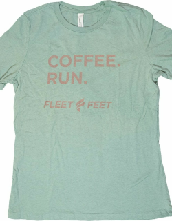Women's Fleet Feet 'Coffee Run' Relaxed Fit Short Sleeve - Heritage Collection