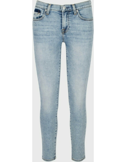 7 For All Mankind Womens Ankle Skinny with Shadow Pockets in Camrose