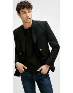 Double Breasted Blazer in Black