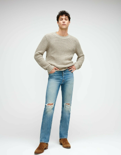 Vintage Straight Selvedge Jean in Canal