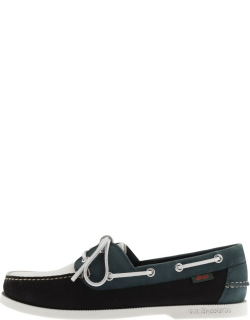 GH Bass Weejun Jetty II Boat Shoes Navy
