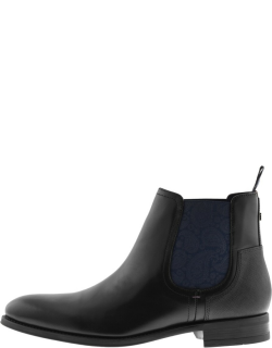 Ted Baker Tradd Leather Boots Black