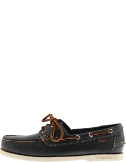 GH Bass Weejun Jetty II Leather Boat Shoes Navy