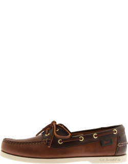 GH Bass Weejun Jetty II Leather Boat Shoes Brown