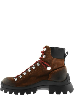 DSQUARED2 Tank Hiking Boots Brown