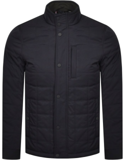 Ted Baker Trent Quilted Jacket Navy