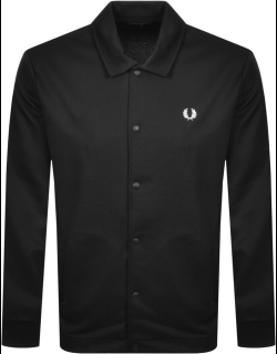 Fred Perry Tricot Coach Jacket Black