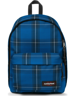 Eastpak Out Of Office Checked Blue, Polyester