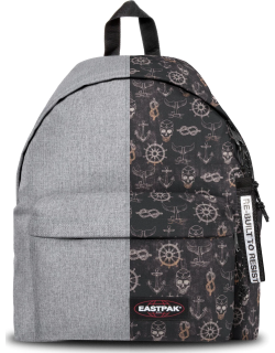 Eastpak Re-built: Recycled Padded Pak'r® Sunday Grey/pirate Black, Polyester