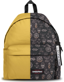 Eastpak Re-built: Recycled Padded Pak'r® Yellow/sailor Black, Polyester