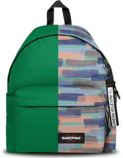 Eastpak Re-built: Recycled Padded Pak'r® Grass Green/large Strokes, Polyester