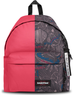 Eastpak Re-built: Recycled Padded Pak'r® Sailor Red/red Wolves, Polyester