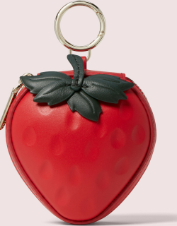 Picnic Strawberry Coin Purse - Red - One