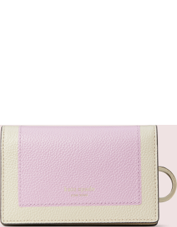 Margaux Small Key Ring Wallet - Purple - One
