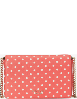 Spencer Dots Chain Wallet - Peach Melba Multi - One
