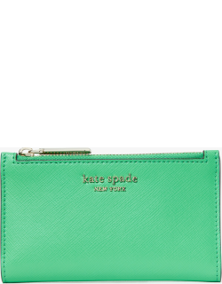 Spencer Small Slim Bifold Wallet - Green Jay - One