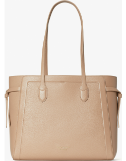 Knott Large Tote - Raw Pecan - One
