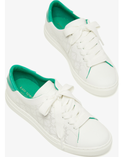 Audrey Sneakers - Optic White / Yucca (Swy) - 7.5