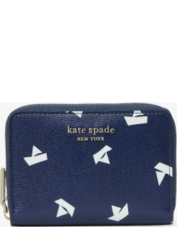 Spencer Paper Boats Zip Card Case - Squid Ink Multi - One